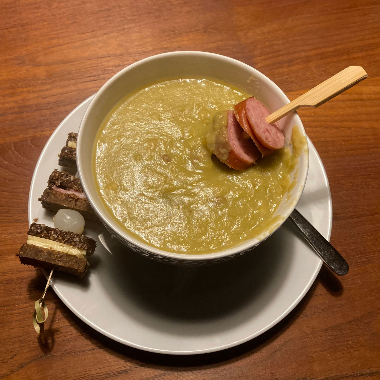 Alle gekheid op een stokje soep